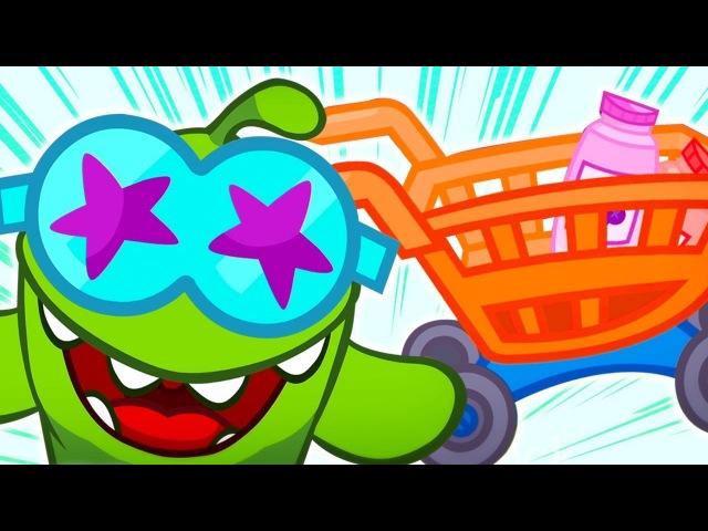Om Nom Video Blog 💚 OmNom geht einkaufen 🛍️ Om Nom auf Deutsch 🍭 Trickfilm für Kinder