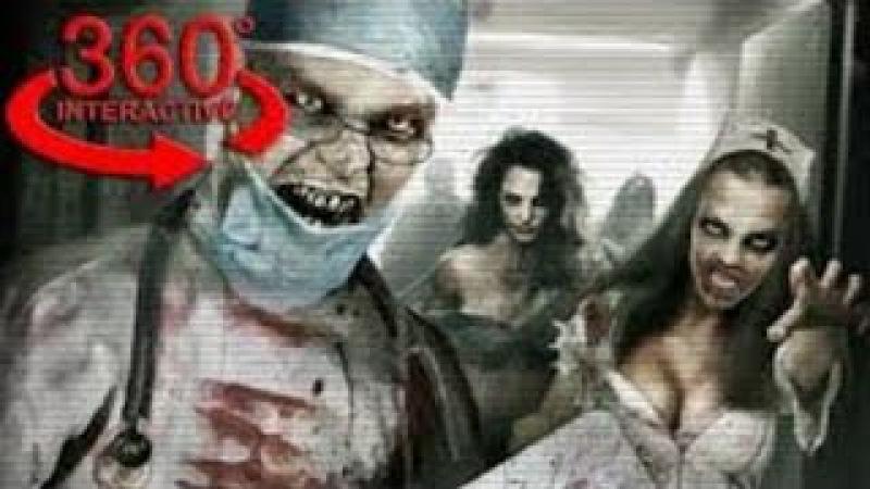 VR 360 Ужасы Психиатрическая больница Insane Asylum