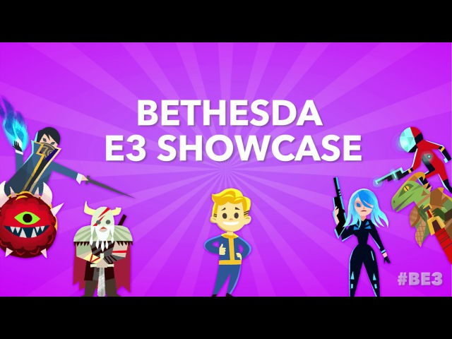 BE3 2017 - Fun Games in Bethesdaland!