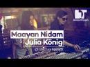 Maayan Nidam Julia König (LIVE) at Strichka Festival, Kyiv (Ukraine)