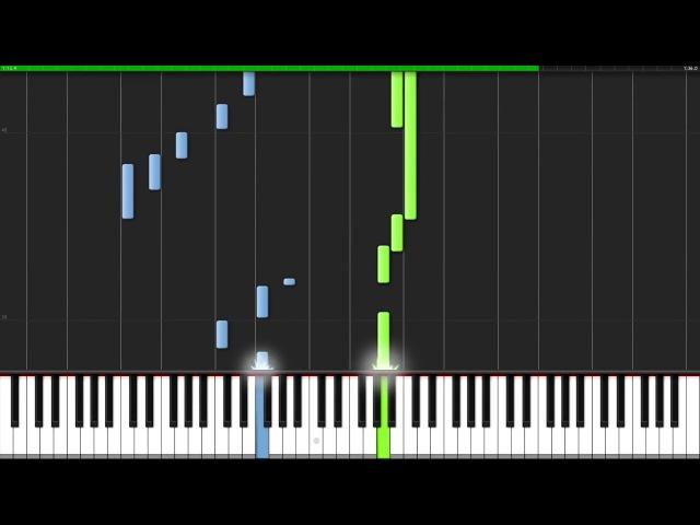 The Sound of Silence - Simon Garfunkel [Piano Tutorial] (Synthesia) Fontenele NXT