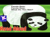 Panda Bear, Panda Bear, What Do You See Read Aloud  Eric Carle  Endangered Animals