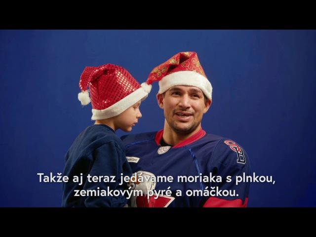 Vianoce podľa hráčov HC SLOVAN. Šťastné a veselé