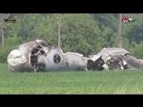 Крушение самолета в Саратовской области 30.05.2017