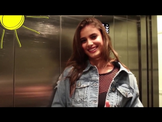 Stuck in the lift with... Taylor Hill! - LOVE