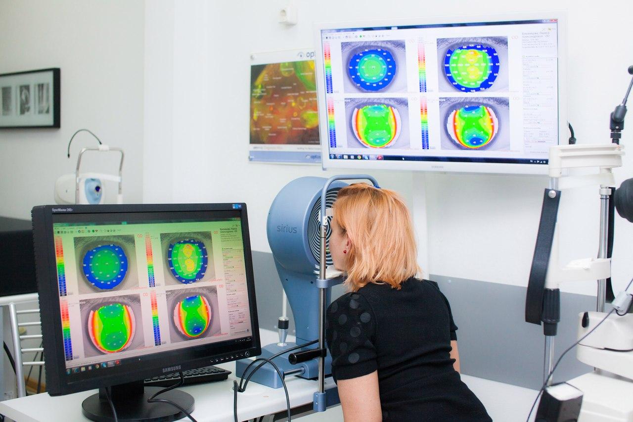 Лечение глаукомы лазером  в Москве