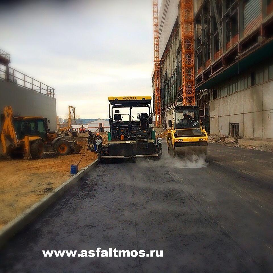 Строительство парковок компании в Москве и Московской области