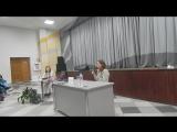Пресс-конференция с Юлией Гавриловой, часть 1
