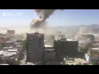 Взрыв в посольском квартале Кабула