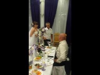 танец с папулей и мужем)))