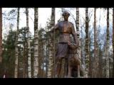 Памятник военной дрессировщице и собаке-сапёру открыли в Петербурге 12 мая 2017 г.