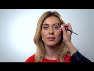 Как  нарисовать брови