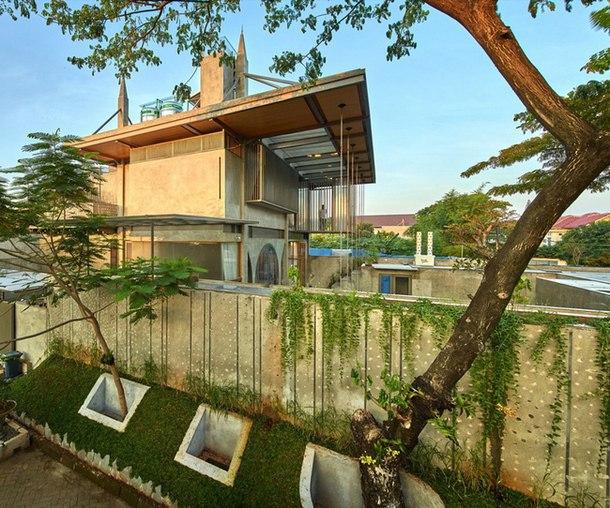 Часть 1. Архитектурная студия в Джакарте  Индонезийское