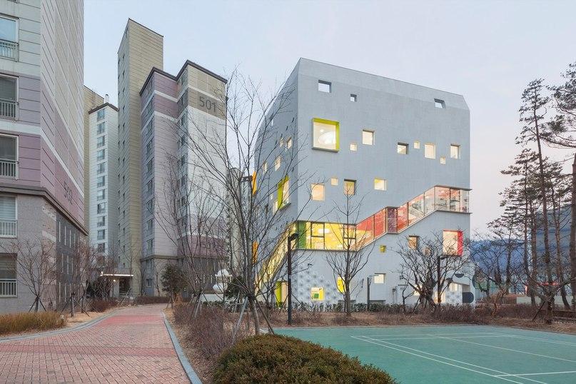 Детский садик. Южная Корея.