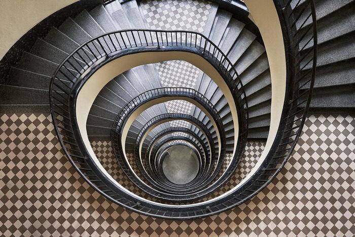 Лестницы Будапешта в фотографиях Balint Alovits