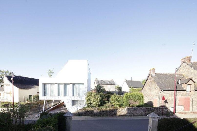 Частный дом во Франции #дома #архитектура #ландшафт