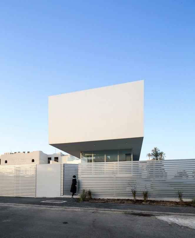 Частный дом в Кувейте #дома #архитектура #ландшафт