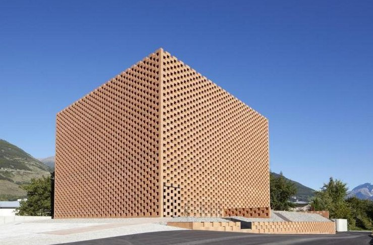 #Architects: #Werner #Tscholl. #Architekt #Project: Puni Distillery #Location: Glurns,
