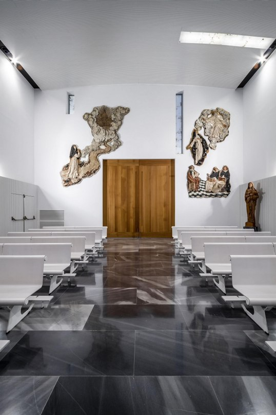Блок 3 мастерская: Hernández Arquitectos проект:Королевский монастырь Санта-Каталина де Сиена где:Испания.