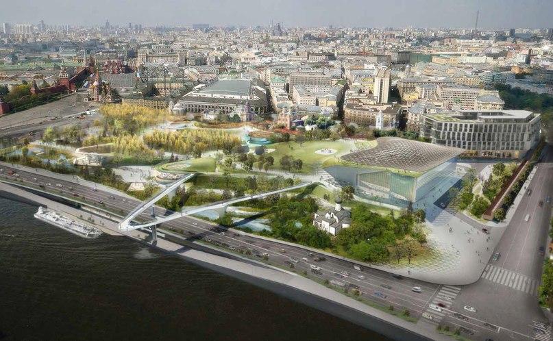 Каким будет самый современный парк в Европе? В