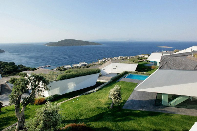 Жилой комплекс над заливом в Турции  Проектное бюро