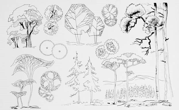 Стаффа́ж — в пейзажной живописи небольшие фигуры
