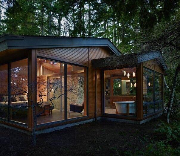 Домик, который спрятался в лесу