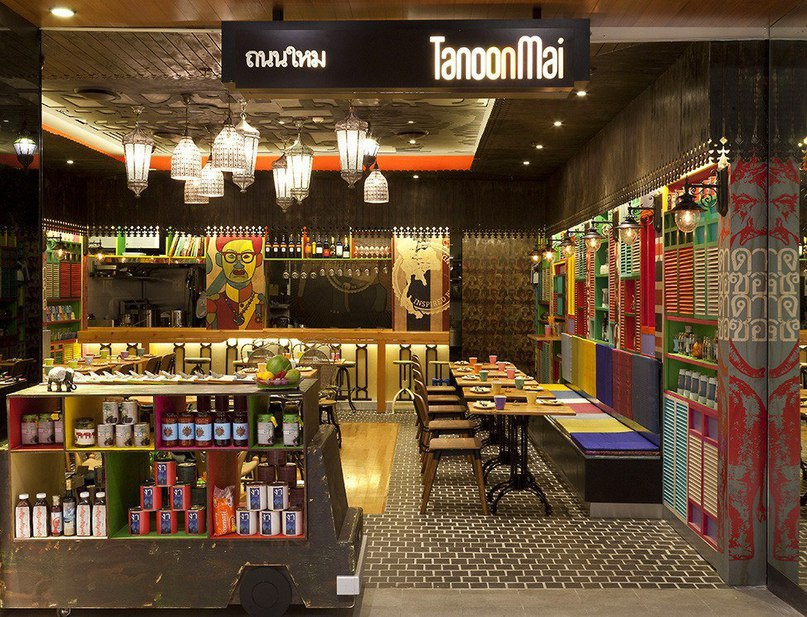 Ресторан тайской кухни Tanoon Mai в Сиднее  Ресторан