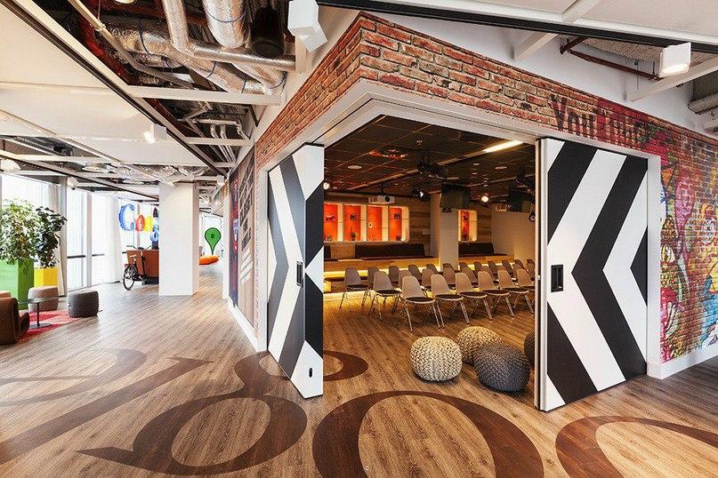 Офис Google в Амстердаме  Архитекторы студии D/DOCK оформили