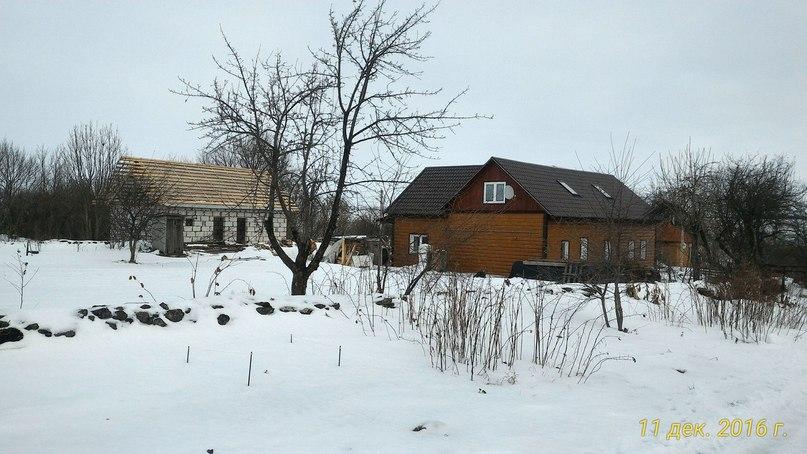 Переделка дома в деревне.