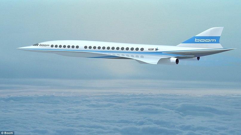 Ричард Брэнсон разрабатывает новый сверхзвуковой самолёт, который