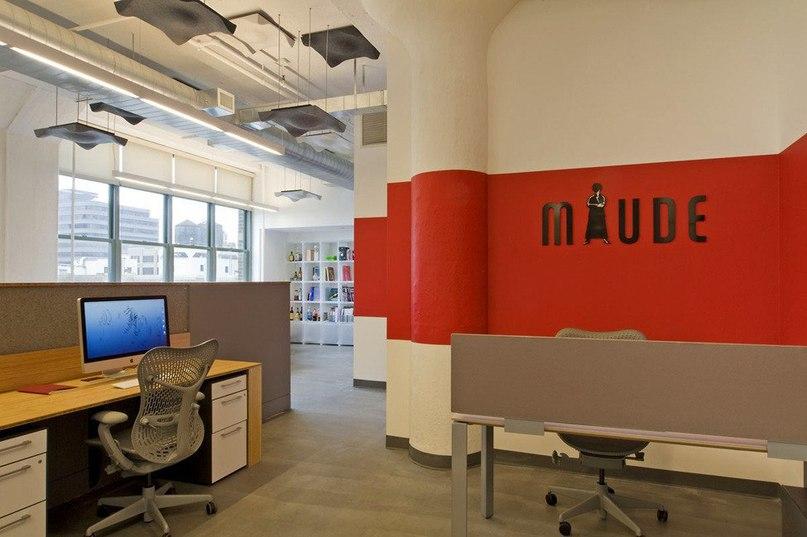Офис рекламного агентства Media Storm  Интерьер офиса компании