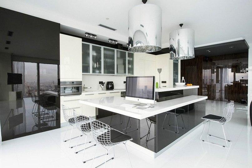 Апартаменты в районе Москва-Сити  Архитектор Егор Серов работал