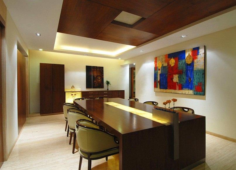 Двухэтажные апартаменты в Индии от ZZ Architects  Студия