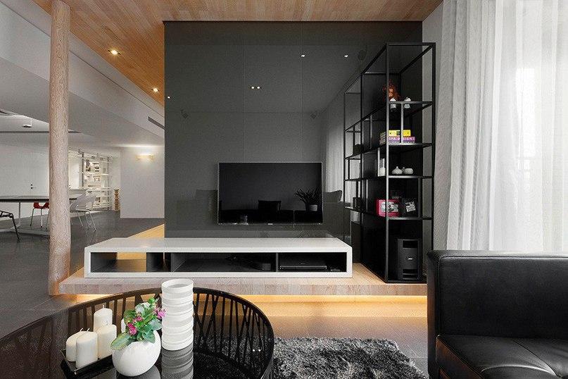 #Стильная #квартира в #Тайбэе  Эта #стильная #квартира расположена