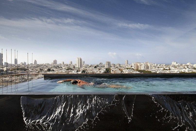 #Пентхаус с панорамными окнами в #Тель-#Авиве  #Студия #Pitsou