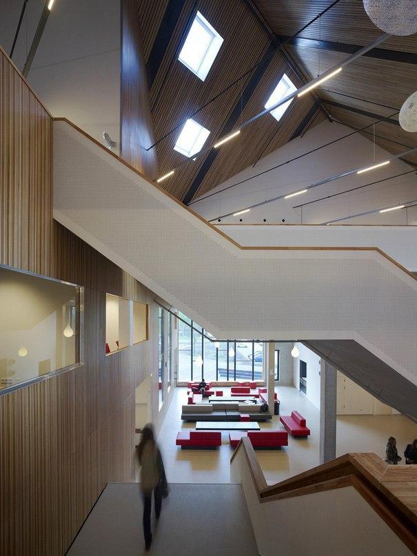 Университетский Колледж #Амстердама от архитекторов #Mecanoo  #Новый #корпус
