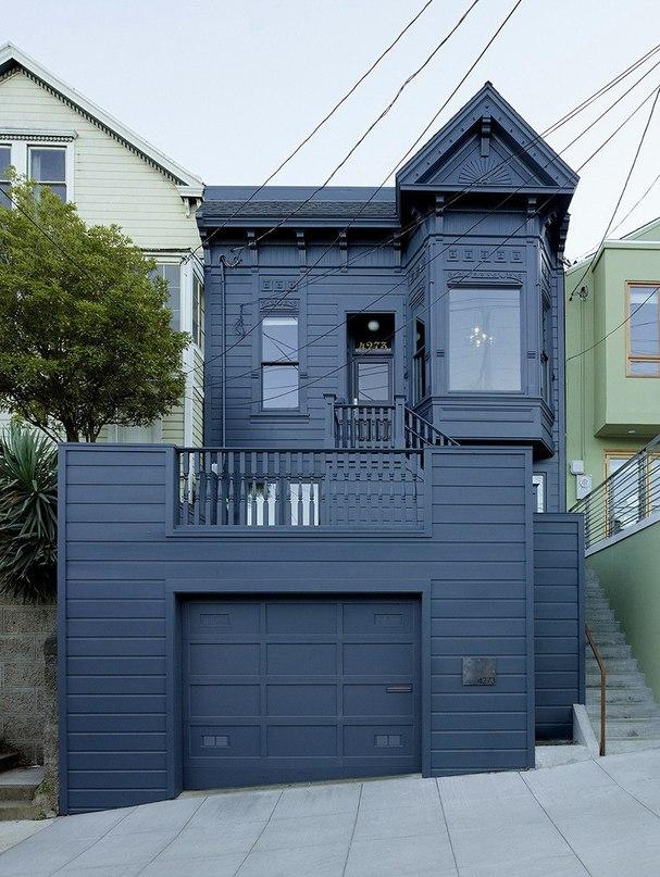 Уютный таунхаус для семьи в Сан-Франциско  Этот таунхаус