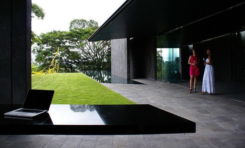 Единый с природой дом в Коста-Рике  Архитектурная студия