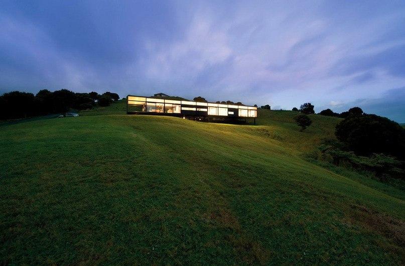 Mann House — прозрачная резиденция в Новой