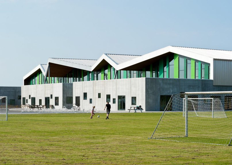 CEBRA completes Danish school with jagged roofs