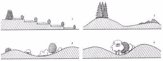 Геопластика – устройство искусственного рельефа на загородном