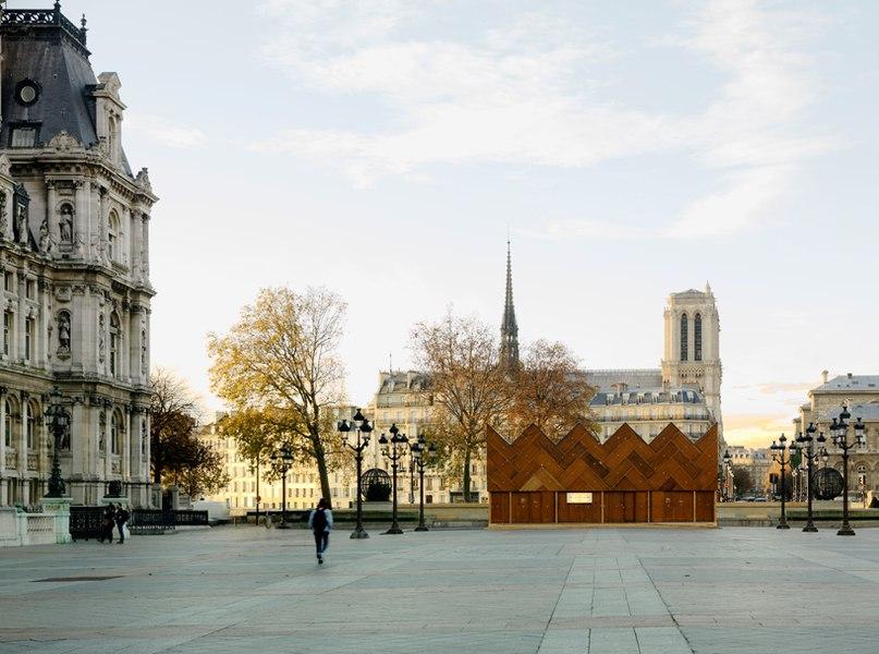 Студия Encore Heureux Architects установила в Париже