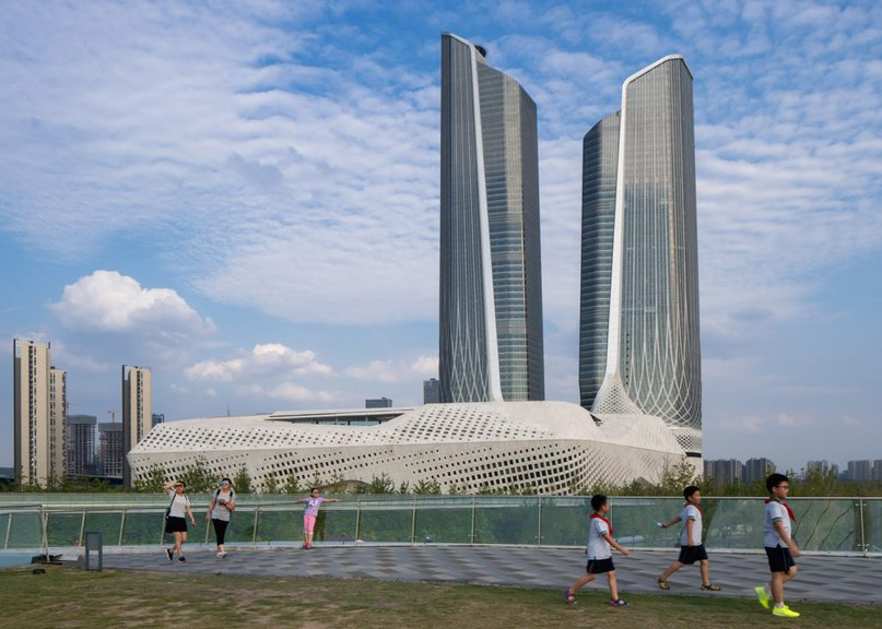 Zaha Hadid's Nanjing International Youth Cultural Centre