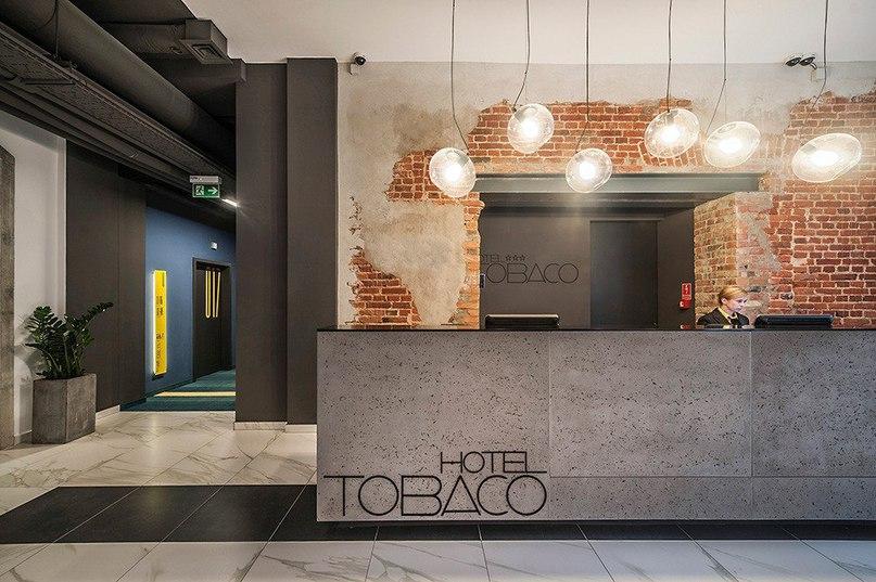 Отель Tobaco в польском городе Лодзь  Студия EC-5