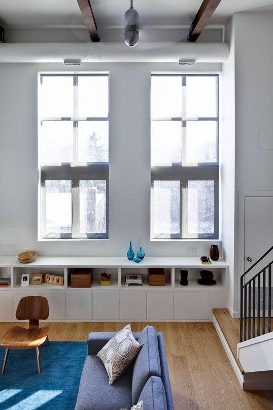 Обновленный интерьер лофта Riverdale от Beauparlant Design  Дизайнеры