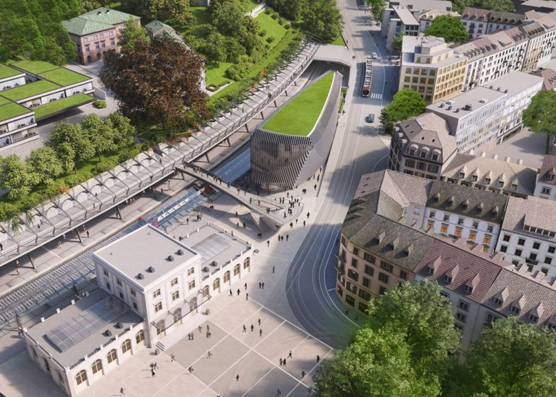 Santiago Calatrava plans Zurich office block with