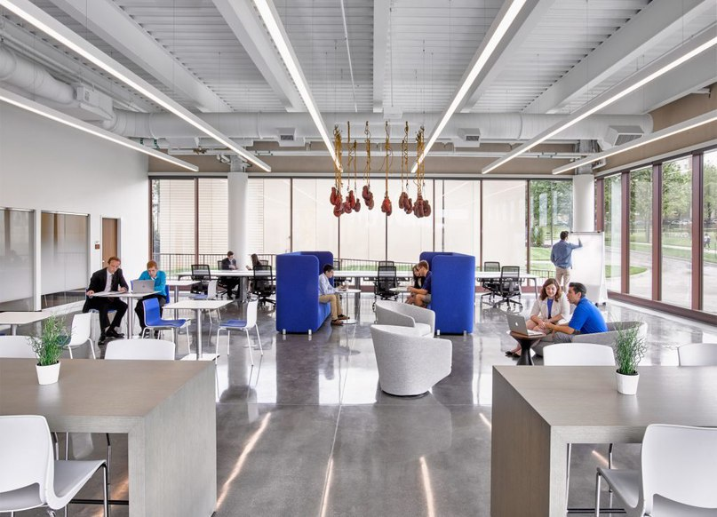Gensler creates opportunities for «chance encounters» inside