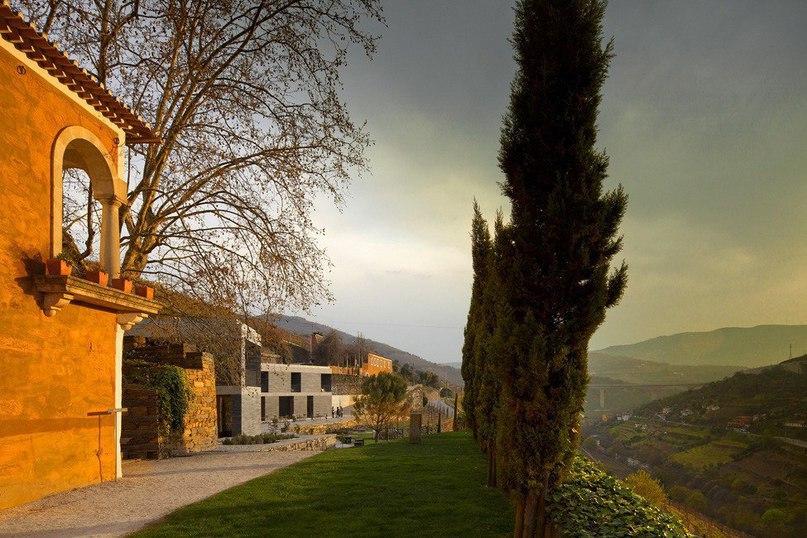 Отель Quinta do Vallado на территории португальской