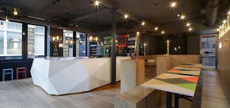 Темакерия Yoobi в Лондоне  Дизайнеры студии Gundry